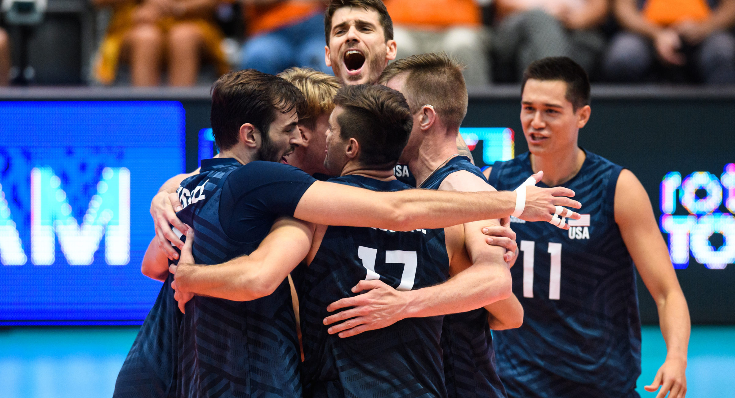 Mens volleyball